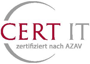 Cert-IT zertifiziert nach AZAV